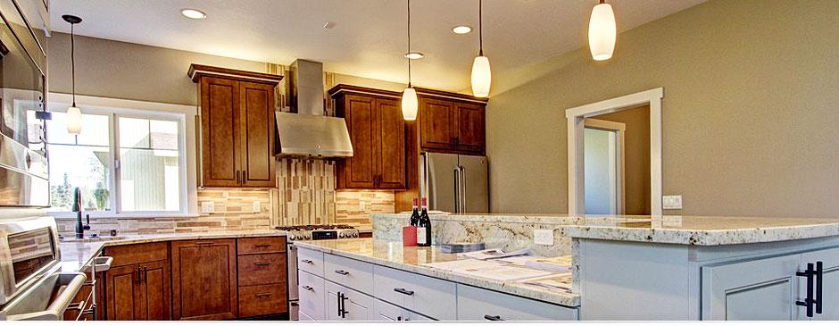 Colony Builders, Inc. merlot kitchen interior