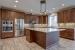 Merlot II kitchen applicances & island